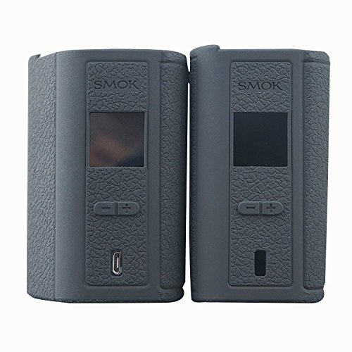 Price comparison product image Rayley Protective Silicone Sleeve Case Skin Cover for SMOK GX2/4 220/350W Mod Kit 2-PACK (Black)