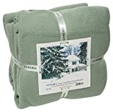 LUXURIA Micro Plush FULL Blanket, SAGE
