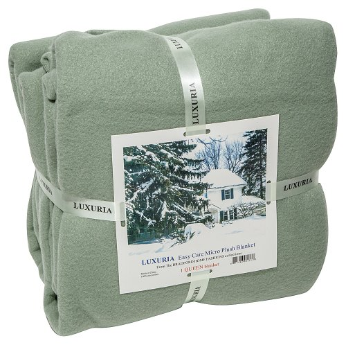 LUXURIA Micro Plush Fleece Blanket