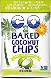 C2O Baked Coconut Chips, Ginger and Lemongrass, 2.82 Ounce (Pack of 12)