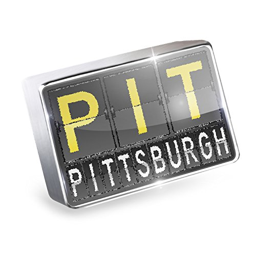 Floating Charm PIT Airport Code for Pittsburgh Fits Glass Lockets, - Airport Pittsburgh Shops