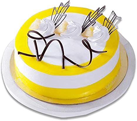 Sattva Flower Boutique Contains A Pineapple Cake Weighs 1 Kg Premium Quality Cakes And Fresh