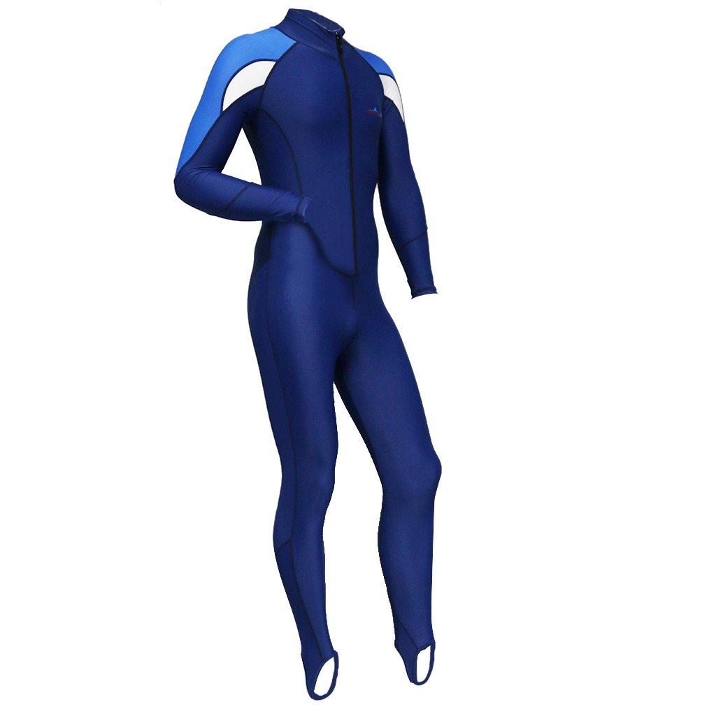 Traje de Ba/ño Stretch Super Swimwear Full Wetsuit MagiDeal Traje de Buceo de Cuerpo Entero de Largo Cremallera Se/ñoras // Hombres Seleccionables