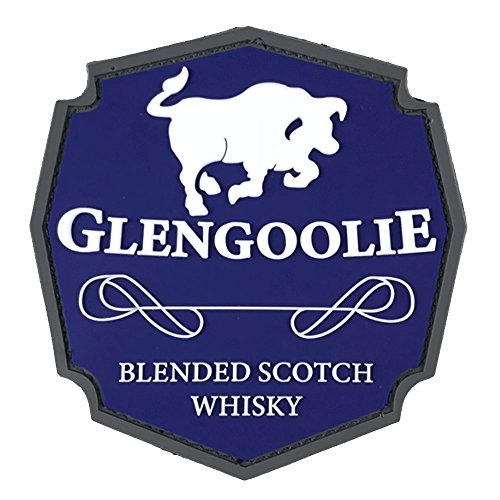 (Patch Panel Glengoolie Scotch Whisky Archer Tactical Patch - Velcro Patch to be Added to Uniforms, Jackets, Backpacks, Vests, Technical)