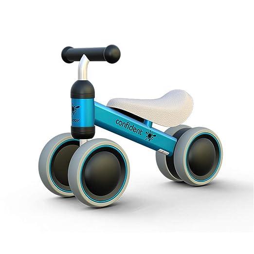 Li.Du Bebé Balance Bicicleta niño Scooter/niño Andador ...