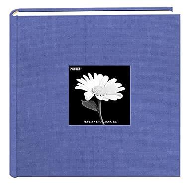 Pioneer 200 Pocket Fabric Frame Cover Photo Album, Sky Blue