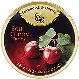 Cavendish & Harvey Sour Cherry Drops- 7 oz
