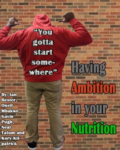 Ambition in Your Nutrition