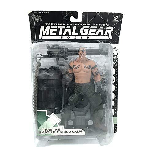 Video Game Figure Metal Gear Solid Mcfarlane Toys Vulcan Raven