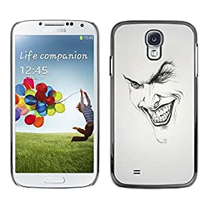 Impact Case Cover with Art Pattern Designs FOR Samsung Galaxy S4 Joker Grin Face Betty shop