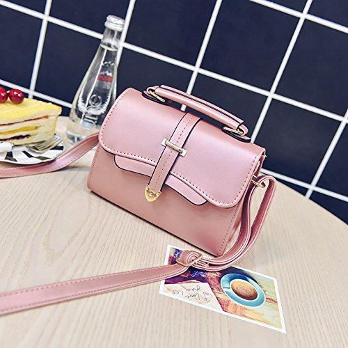 Elegante bolso de moda mujer bolso Primavera bolso silvestre new wave, plata Pink