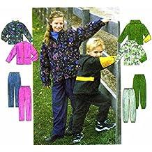 Simplicity 8342 Sewing Pattern Boys Girls Jacket Pants Size 3-6
