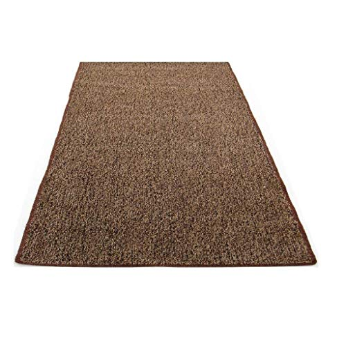 Koeckritz Rugs Custom Sized Indoor/Outdoor Artificial Grass Turf (Color: Brown Tan) ()