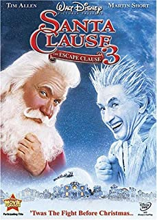 Book Cover:                                                                             The Santa Clause 3 - The Escape Clause