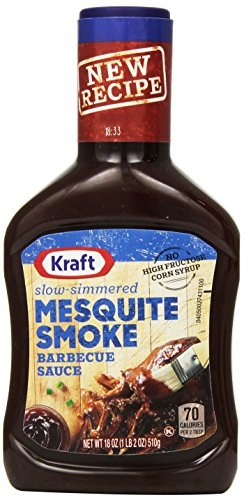 (Kraft Slow Simmered Mesquite Barbecue Sauce (18 oz Bottle))