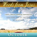 Words from Jesus: October: A Reading for Every Day of the Month | Simon Peterson