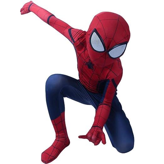 CVFDGETS Niños Spider Man Far from Home Peter Parker Disfraz De ...