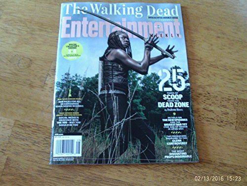 Entertainment Weekly February 19/26, 2016 The Walking Dead Cover #3 Danai (Walking Tin)
