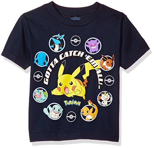 Pokemon Little Boys Gotta Catch Em All Short-Sleeved T-Sh...