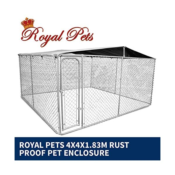New Pet Dog Kennel Enclosure Playpen Puppy Run Exercise Fence Cage Play Pen A3 Click on image for further info. 2