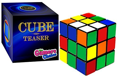 Cube Teaser Turns Quicker and More Precisely Than Original. Super-durable With Vivid Colors; Ultimate Gift For All Ages. (Best Rubix Cube Game)