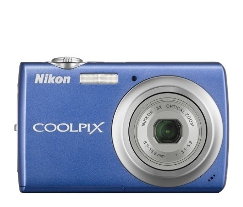- Nikon Coolpix S220 10MP Digital Camera with 3x  Optical Zoom and 2.5 inch LCD (Cobalt Blue)
