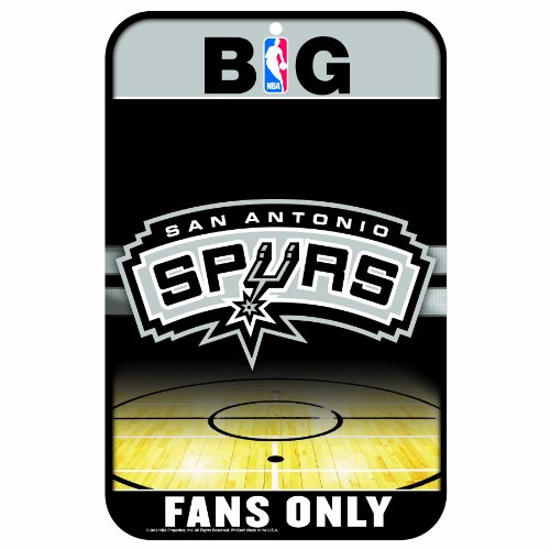 WinCraft NBA San Antonio Spurs 11x17-Inch Sign by WinCraft