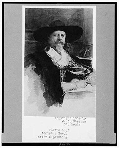 Photo: Adolphus Busch,1839-1913,co-founder of Anheuser Busch,Brewing ()