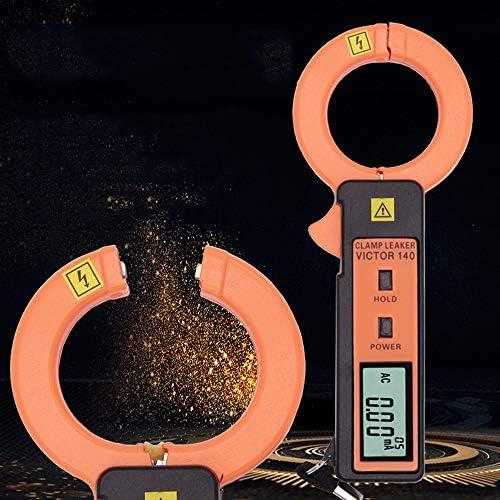 Mlq Hochpräzises Ableitstrommessgerät Für Zangen Berührungslose Messung Große Backe Geeignet Für Strom Meteorologie Eisenbahn 6 4 16 2 3 Cm Küche Haushalt