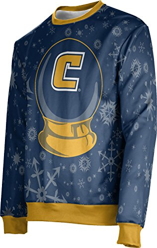 University of Tennessee at Chattanooga (UTC) Ugly Holiday Unisex Sweater - Snow Globe FE622