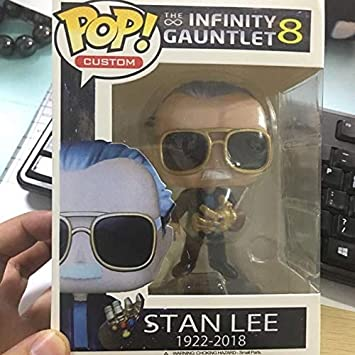Stan Lee Infinity Exclusive Avengers #01 Action Figure Model Toy Collect In Box