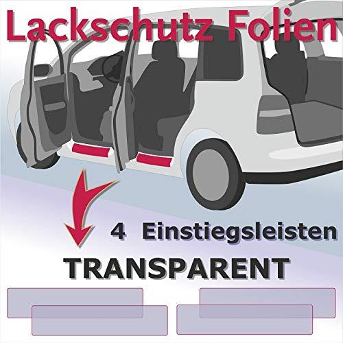 Einstiegsleisten Lackschutzfolie Schutzfolie auto Folie Transparent T/üreinstiege Einstiege VS-Sport 2168
