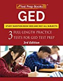 GED Study Question Book 2020 and 2021 All