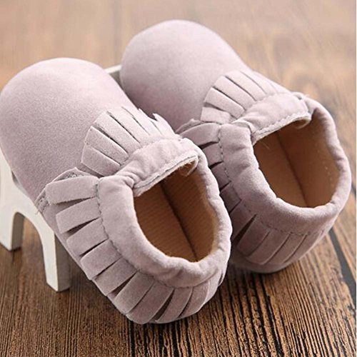 Baby Junge Mädchen Kleinkind Schuhe Weiche Sohle Säuglingsschuhe Beige