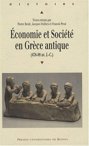 Download Economie et societe en Grece Antique (478-88 av.JC) pdf epub