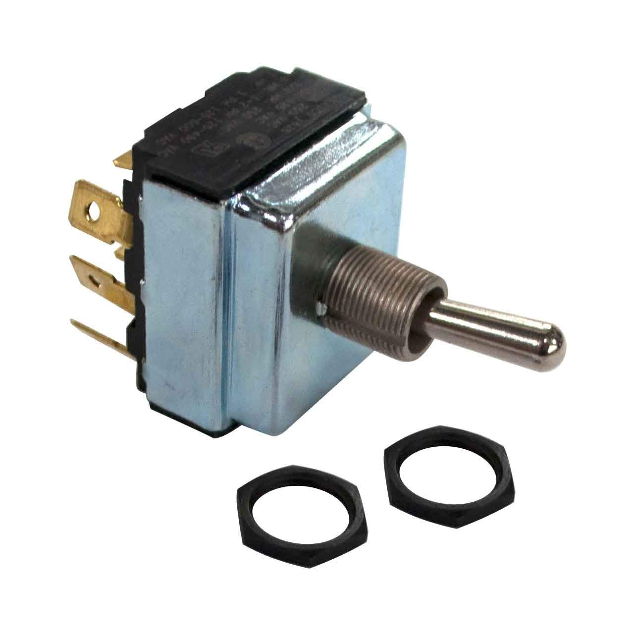 Miller 011622 Switch, Tgl 3Pdt 15A 125Vac On-None-On Spd by Miller Electric