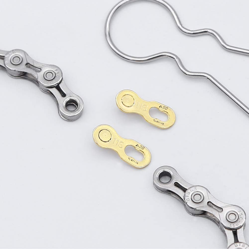 2Pairs Bicycle Chain Connector Lock for 6//7//8//9//10//11//12 Quick Speed Master Link