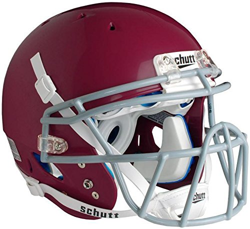 Schutt Sports DNA Pro+ Varsity Football Helmet, Maroon, Medium (Helmet Varsity Football)