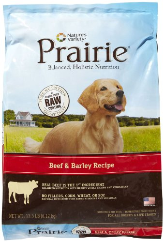 Natures Variety Prairie Beef Dry Dog Food 13.5lb