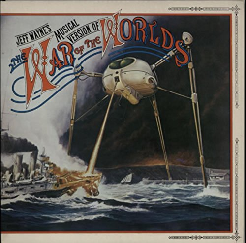 JEFF WAYNE War of the Worlds 2x vinyl LP