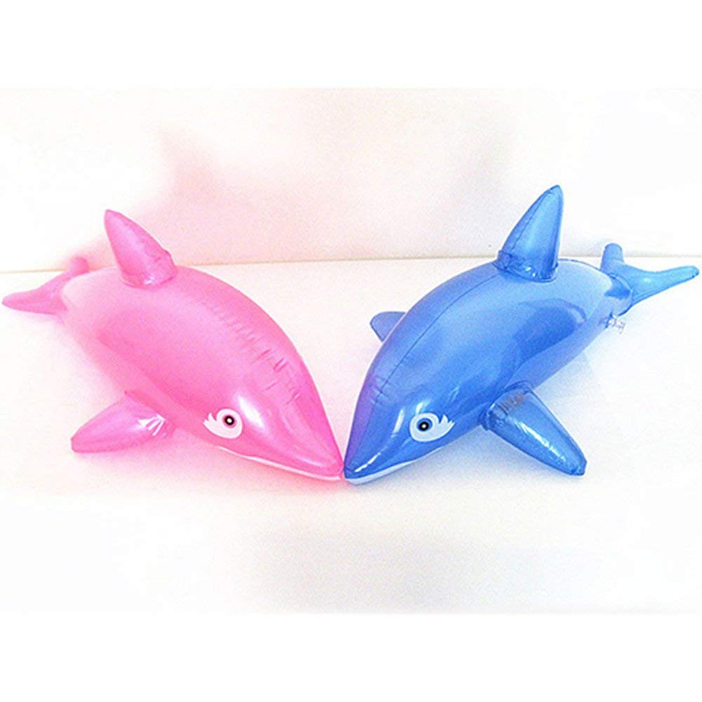 Premium Qualit/ät 1 ST/ÜCK Sch/öne 50 cm Aufblasbare Delphin Fisch Strand Schwimmbad Party Kinder Spielzeug Carry Stone