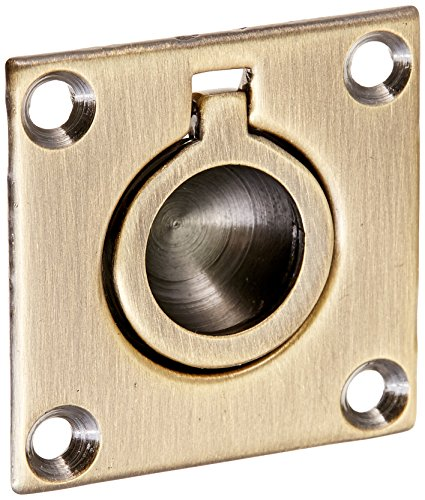 Baldwin 0393050 Flush Ring Pull, Antique ()