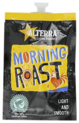FLAVIA ALTERRA Coffee, Morning Roast, 20-Count Fresh Packs (Pack of 5)