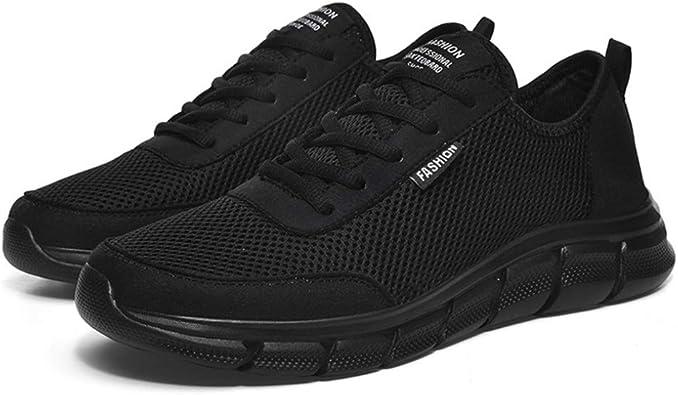 Zapatillas de Running para Hombre Zapatillas de Deporte de Malla ...