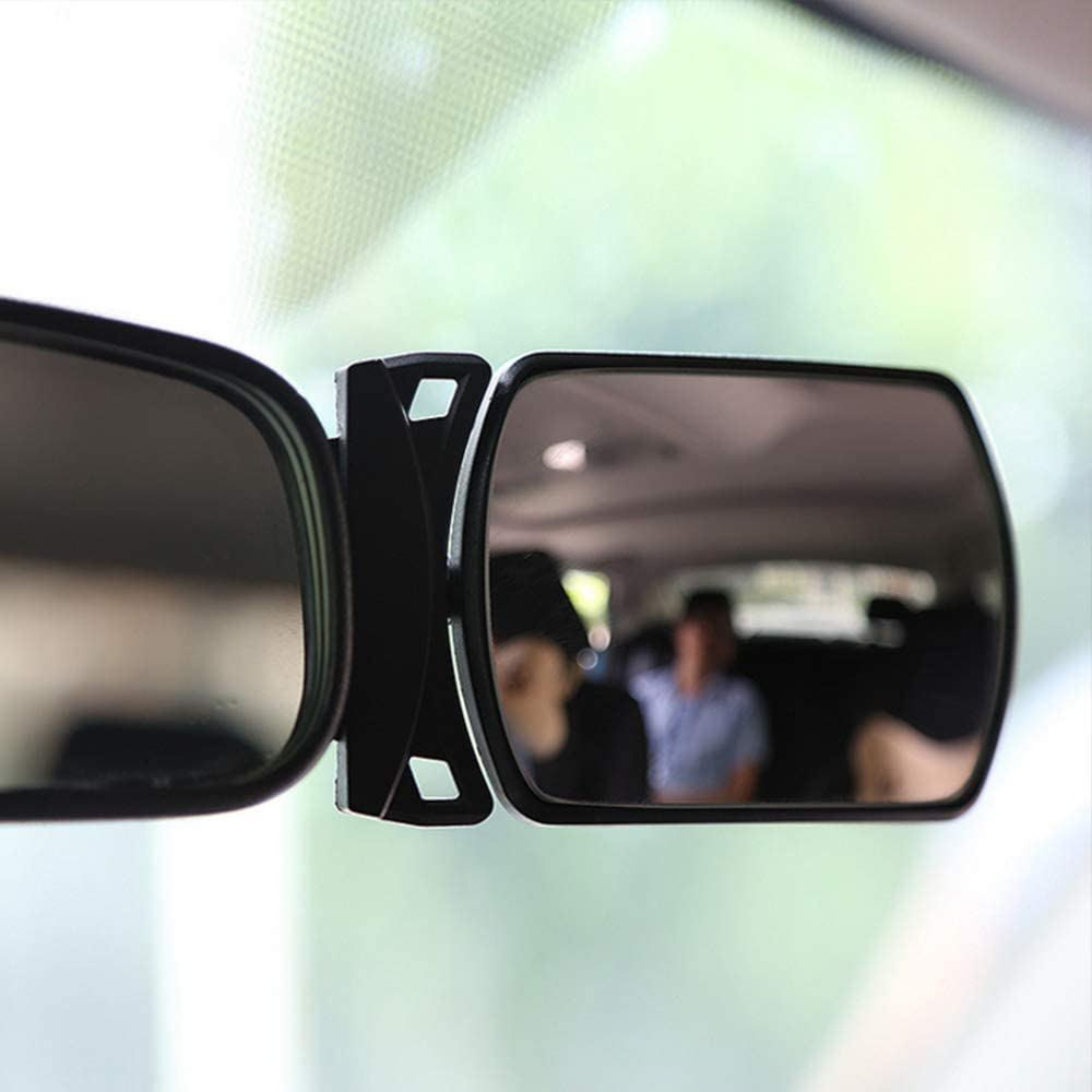 Auto Baby Spiegel Auto Rearview Sicherheit R/ücksitz Spiegel Klebstoff drehbar einstellbar Baby Kids Sicherheitsmonitor