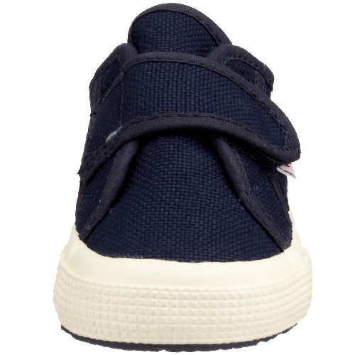 Superga 2750 Bvel, Unisex Kinder Sneakers Blau/933 Navy