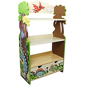 Amazon Com Kidkraft Firehouse Bookcase Toys Games