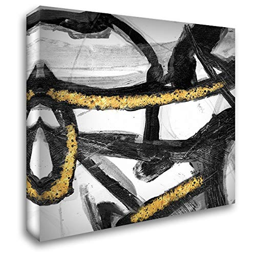 Swinging Vine - Swinging Vines 1 32x32 Extra Large Gallery Wrapped Stretched Canvas Art by Lewis, Sheldon