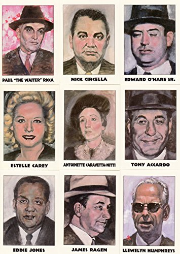 TRUE CRIME SERIES 2 1992 ECLIPSE COMPLETE BASE CARD SET OF 110 MS