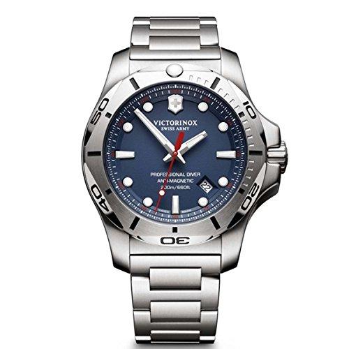 Victorinox-INOX-Blue-Dial-Stainless-Steel-Mens-Watch-241782